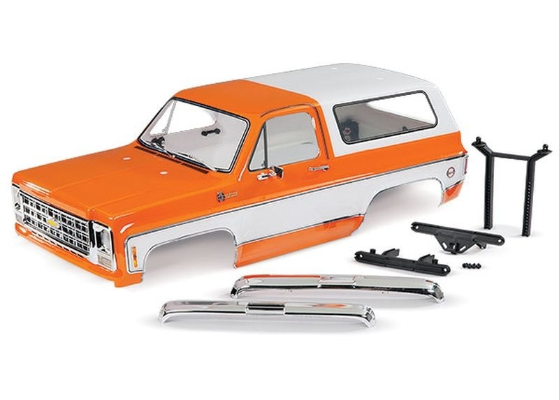 Traxxas Karo Chevrolet Blazer (1979) orange