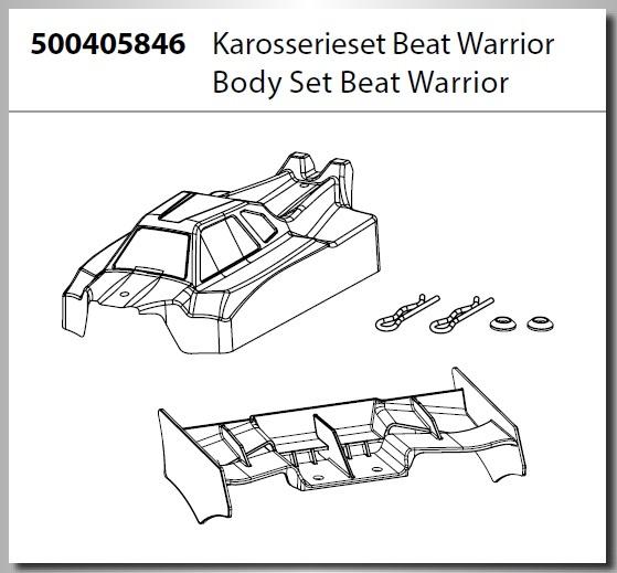 Carson Karosserie Beat Warrior Buggy