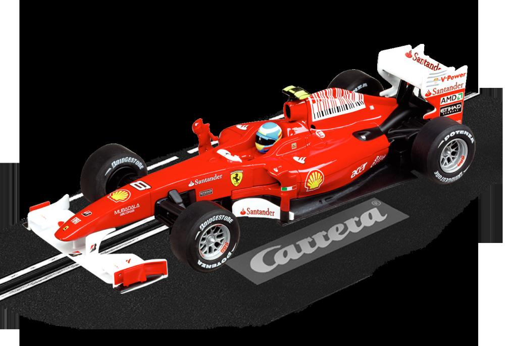 Carrera Digital 132 Ferrari F10 Fernando Alonso --LOSE--