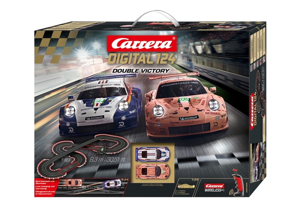 Carrera Digital 124 Double Victory