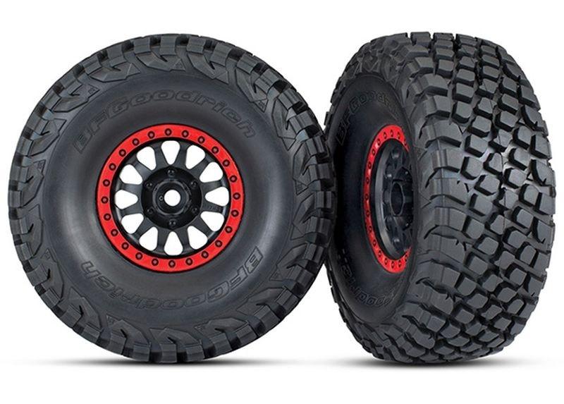 Traxxas Reifen auf Felge montiert BFGoodrich BAJA K3 Reifen