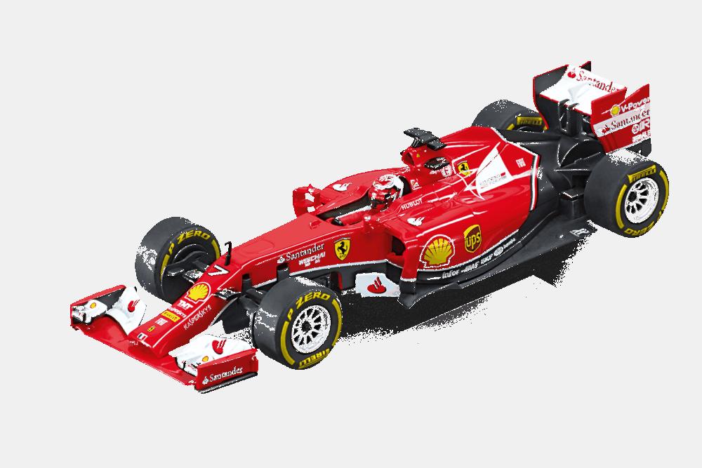 Carrera Digital 132 Ferrari F14 T K.Räikkönen, No.7
