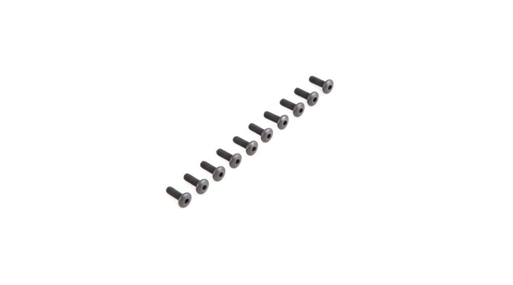 Losi Button Head Screws M4 x 12mm (10) (LOS235007)