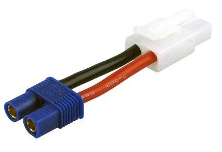 Adapter kompatibel m.E-flite EC3 Buchse <=>TAMIYA Buchse