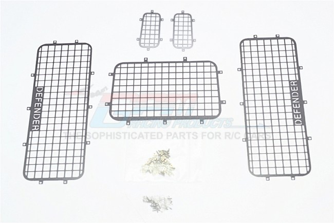 GPM TRX4 scale accessories: alumnium window guard for TRX-4