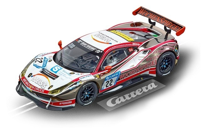 Carrera Digital 132 Ferrari 488 GT3 WTM Racing, No.22