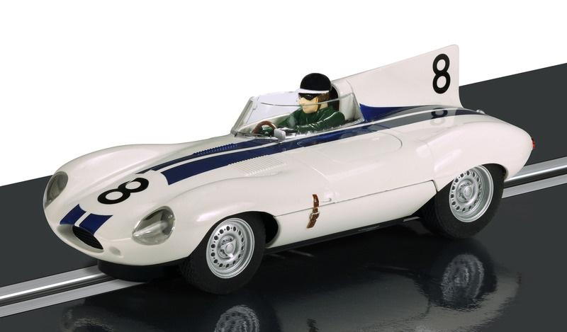 Scalextric Jaguar D-Type Briggs Cunningham