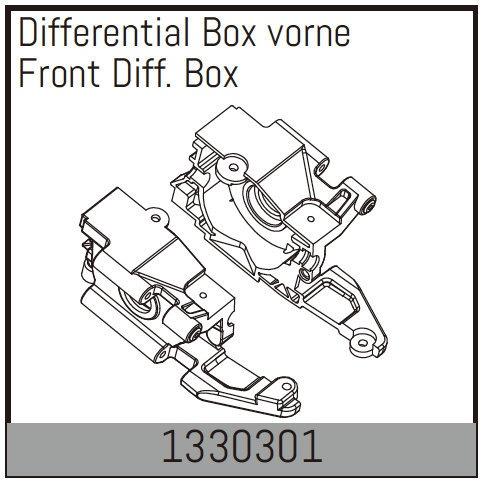 Absima Differential Box vorne