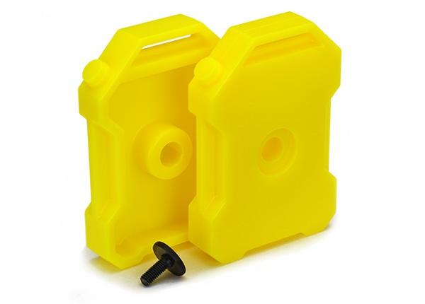 Traxxas Benzin-Kanister (gelb) (2)/ 3x8 FCS TRX-4 (1)