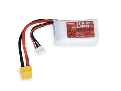 Graupner Power Pack LiPo 3S / 1000 mAh, 11,1 V, 30 C, XT-60