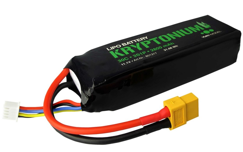 Yuki Model KRYPTONIUM LiPo 3s1p 11,1V 2800mAh 30C XT60