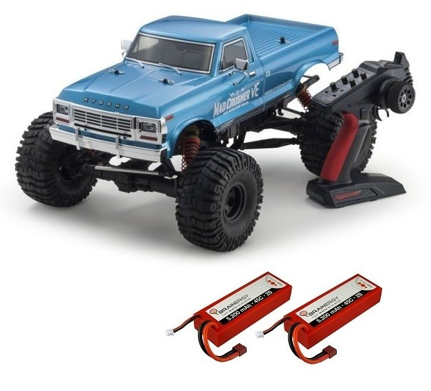 Kyosho Mad Crusher VE 4WD ReadySet EP (KT231P-NEON8-R8 ESC)