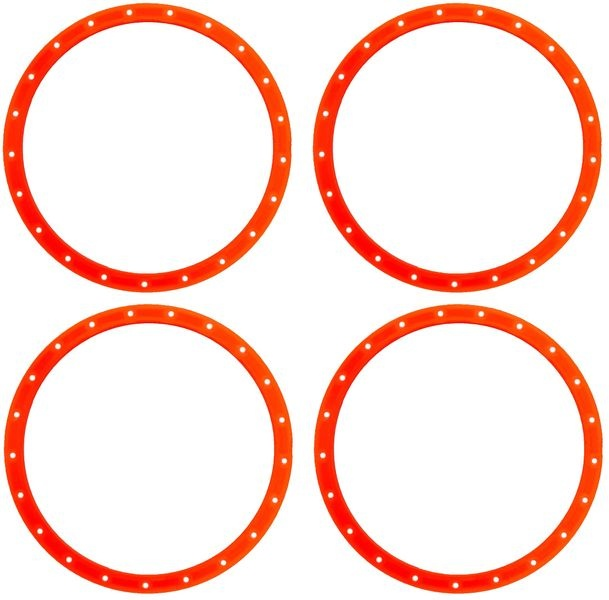 JS-Parts Felgenringe für Louise RC MFT 1:5 orange /