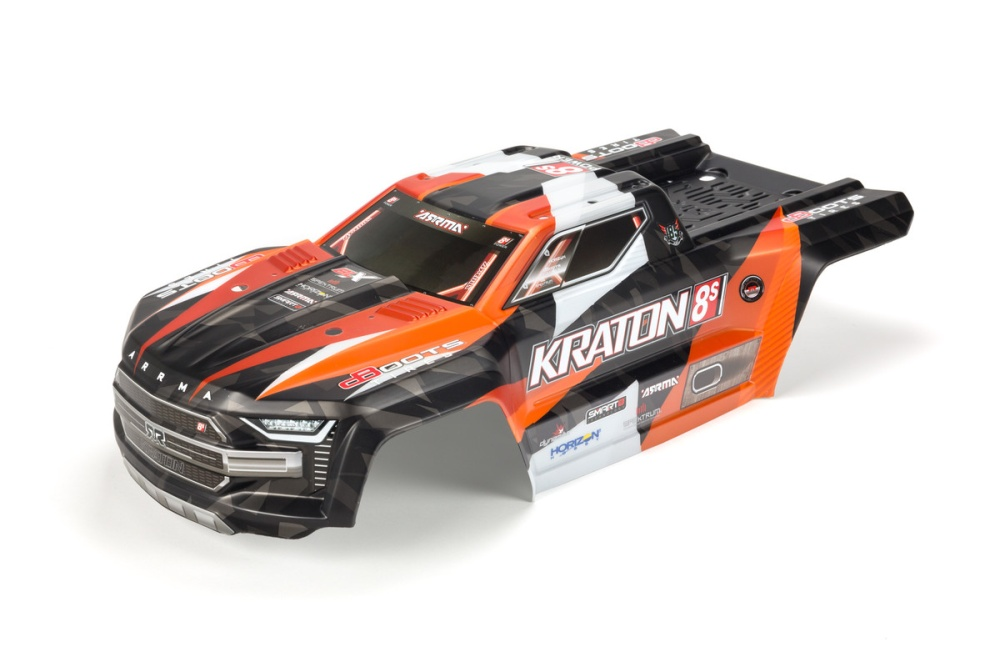 Arrma Kraton 8S Body Orange (ARA409007)