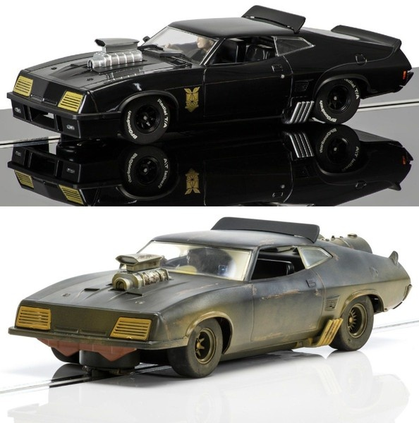 Scalextric Ford XB Falcon Matte Black Mad Max --SPARSET 1--