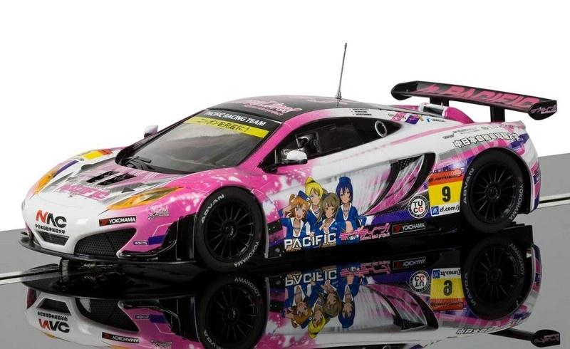 Scalextric McLaren 12C GT3 #9 Anime JSGT HD