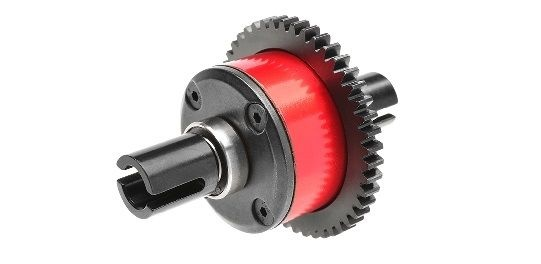 Team Corally - Center Diff Assembly - Aluminium / Steel -