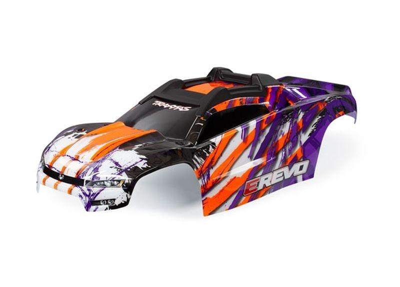 Traxxas Karo E-REVO purple mit Aufkleber TRAXXAS