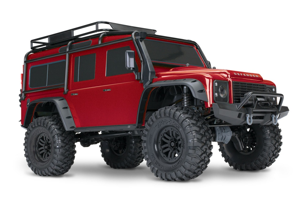 Traxxas TRX-4 Scale and Trail 4WDCrawler TQi 2.4GHz RTR 1:10