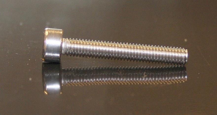 Edelstahl Innen-Sechskant-Schrauben M3x20, 10 Stück