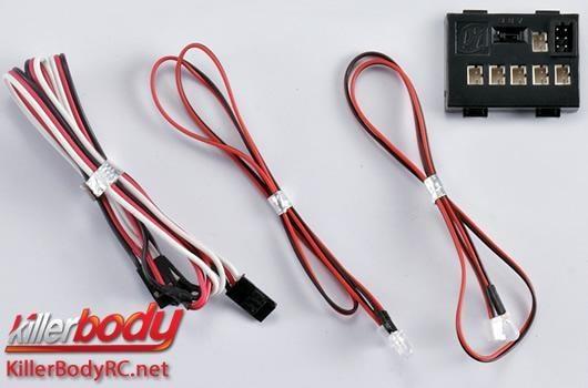 Killerbody Lichtset - 1:10 TC/Drift - Scale -