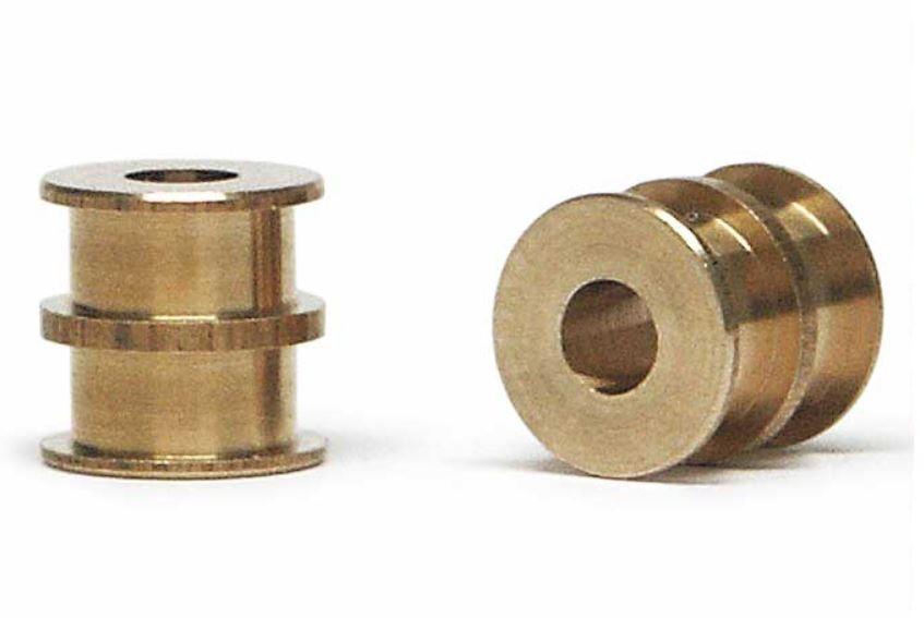 2x Slot.it Achslager PAS Double aus Bronze 4,9mm  für Achse