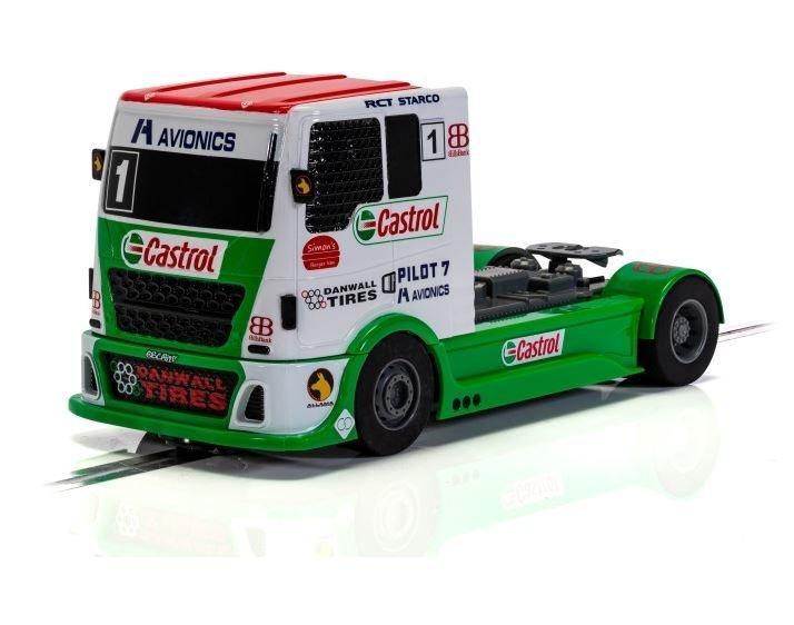 Scalextric 1:32 Racing Truck - Rot/Grün/Weiß SR