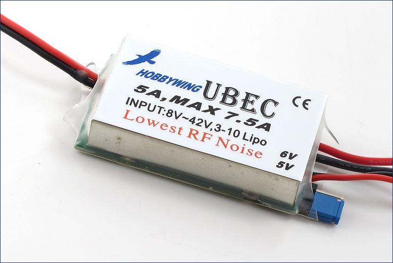 Hobbywing BEC-Regler #UBEC 5A HV