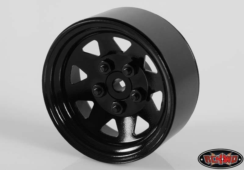 RC4WD 5 Lug Wagon 1.9 Single Steel Stamped Beadlock Wheel