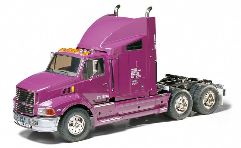 Tamiya RC Truck Ford Aeromax Bausatz 1:14