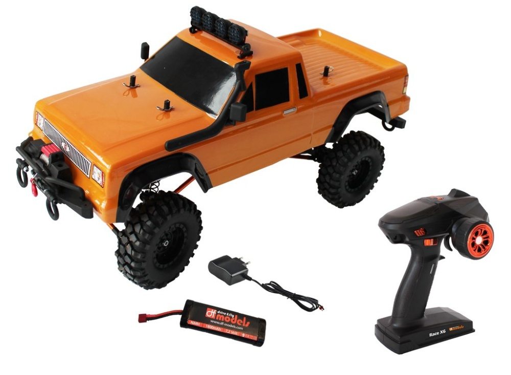 DF-Models DF-4S Scale-Crawler 313mm Edition - PickUp -