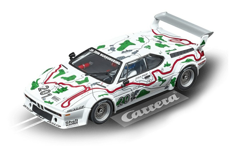 Carrera Digital 124 BMW M1 Procar No.201,