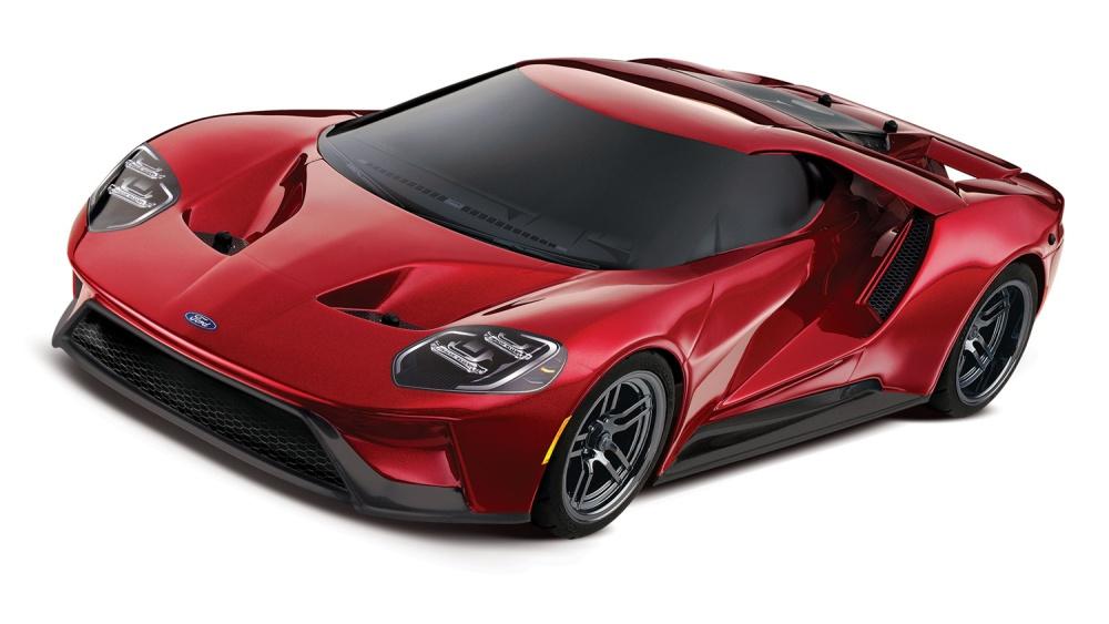 Traxxas Ford-GT 4-TEC 2.0 Supercar TQi 2.4GHz/TSM RTR 1:10