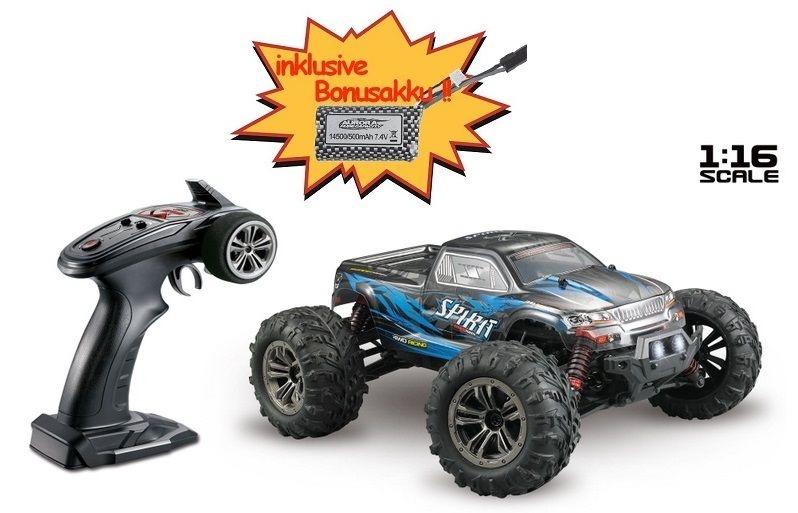 Absima High Speed Monster Truck SPIRIT schwarz/blau