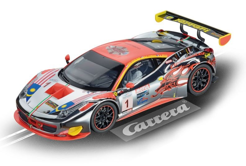 Carrera Digital 124 Ferrari 458 Italia GT3 --LOSE--