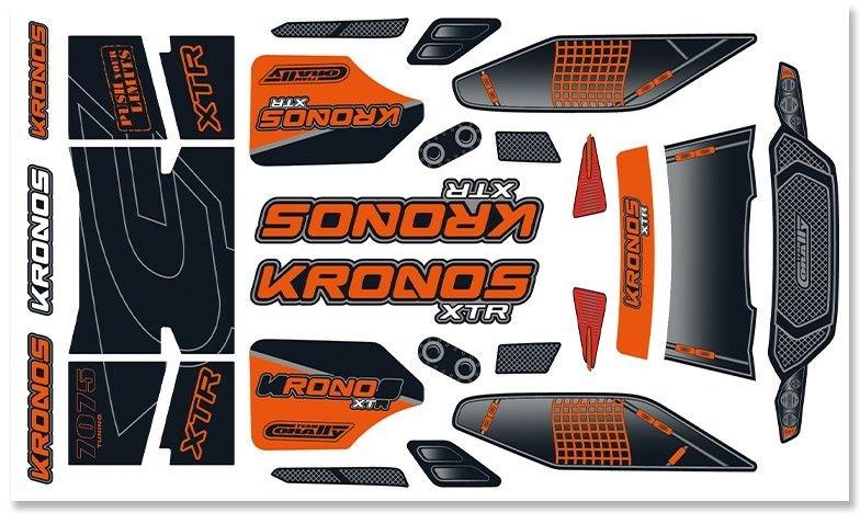 Team Corally - Body Decal Sheet - Kronos XTR - 1 pc