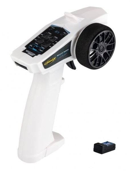 Carson Reflex Wheel Start 2.4GHz Radio weiss