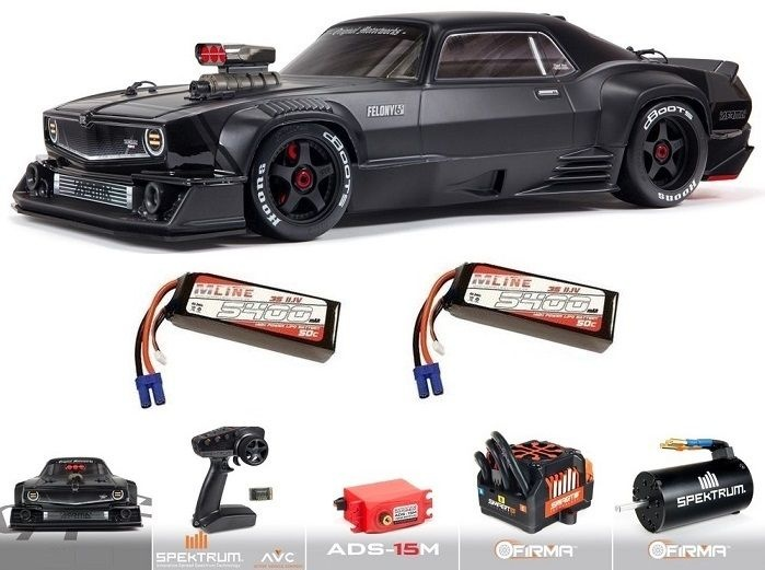 Arrma Felony 6S BLX Street Bash 1/7 All-Road Muscle Blk