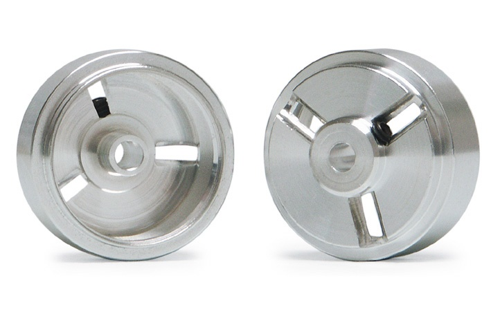 2x Slot.It Felge Magnesium 17,3x8mm für 2,38mm (3/32)