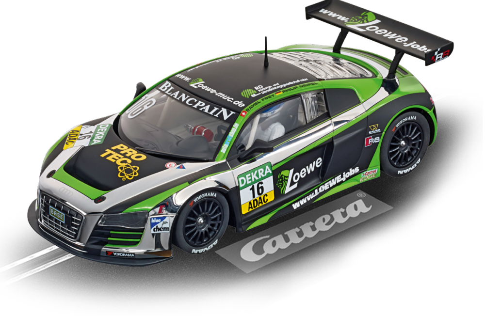 carrera digital 124 audi r8 lms yaco racing modellbau metz slotcars rc modellbau. Black Bedroom Furniture Sets. Home Design Ideas