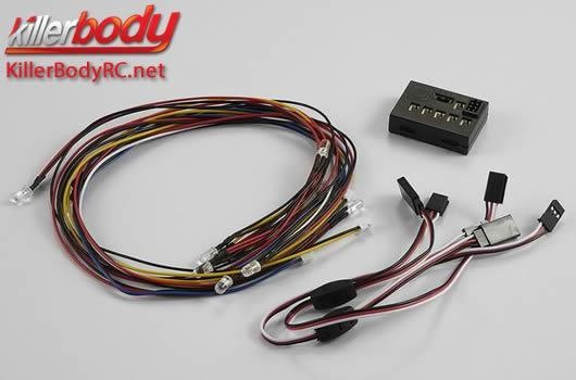 Killerbody Lichtset - 1:10 TC/Drift - Scale -