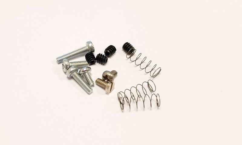 NSR Screw Full Kit (4 axle screws+3 medium springs+ M2x3,