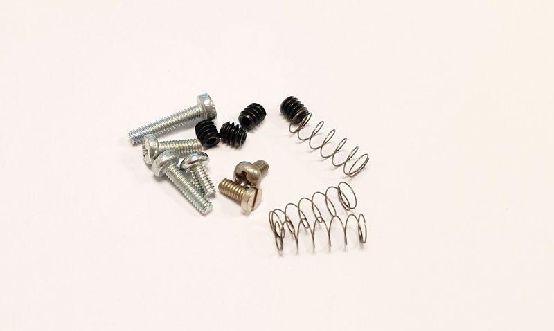 NSR Screw Full Kit (4 axle screws+3 medium springs+ M2x3,