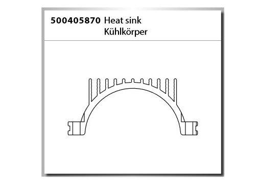 Carson Kühlkörper / Heat sink Virus Rocket 120 2.4GHz