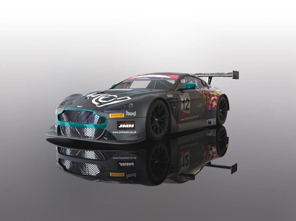 Scalextric 1:32 Aston Martin GT3 2017 HUD Msp. HD