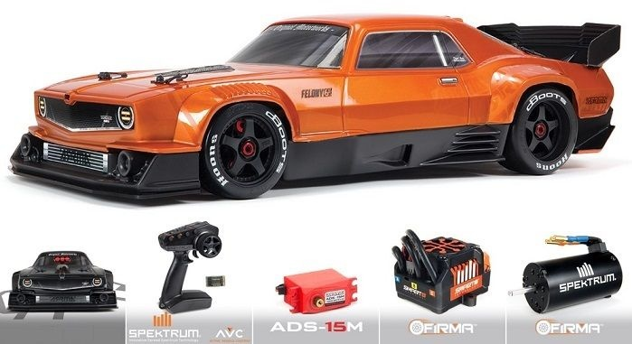 Arrma Felony 6S BLX Street Bash 1/7 All-Road Muscle Org