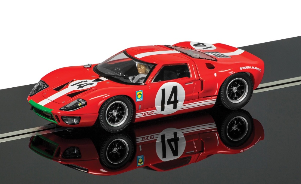 Scalextric Ford GT40 rot #14 HD