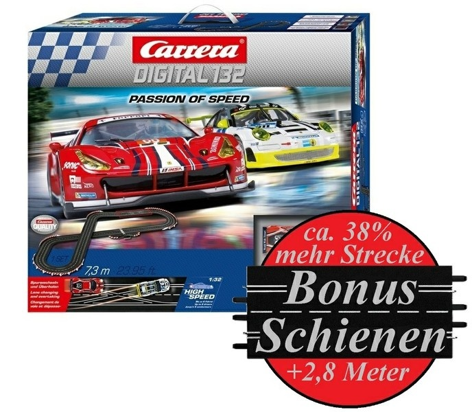 Carrera Digital 132 Passion of Speed --SPARSET--