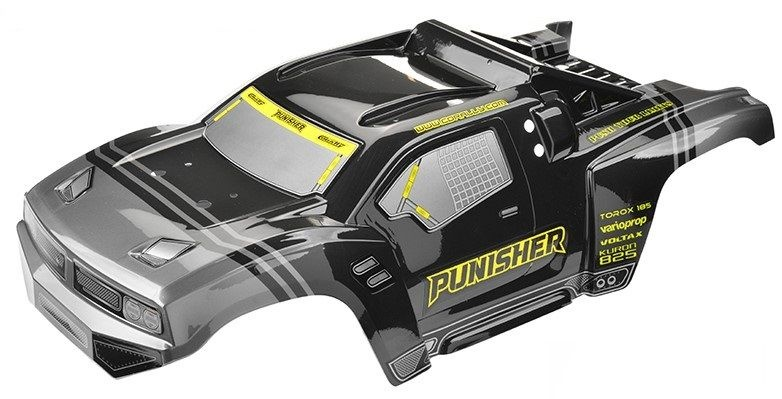 Team Corally - Polycarbonate Body - Punisher XP - 2021 -