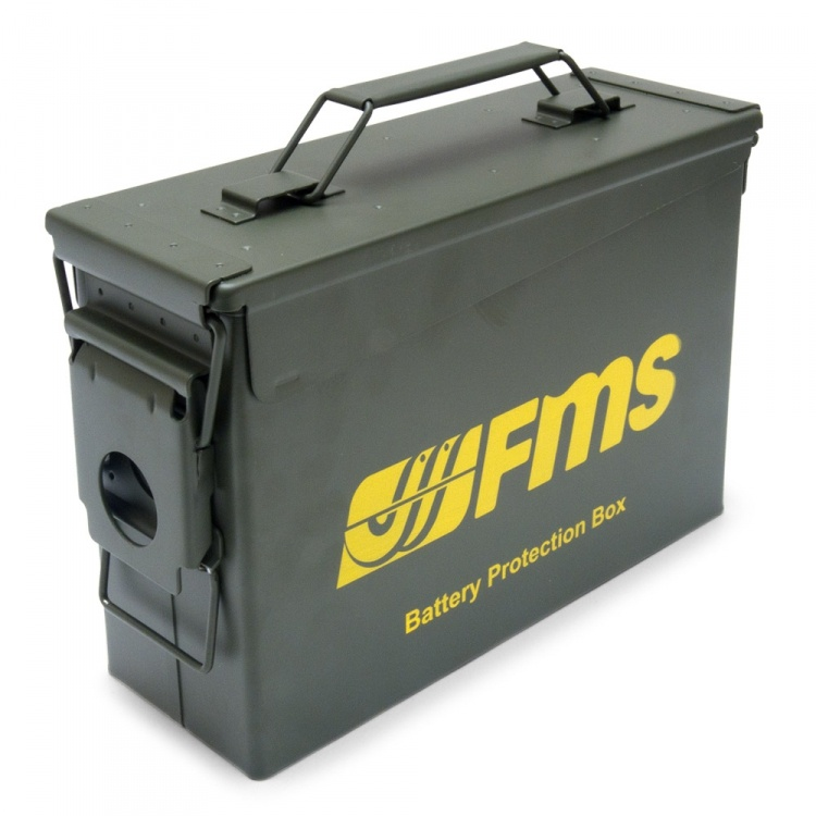 FMS Battery Protection Box Small 279x97x185mm
